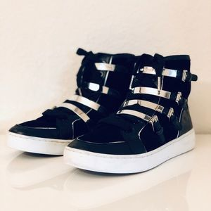 Michael Kors Kimberly High Tops Size 6